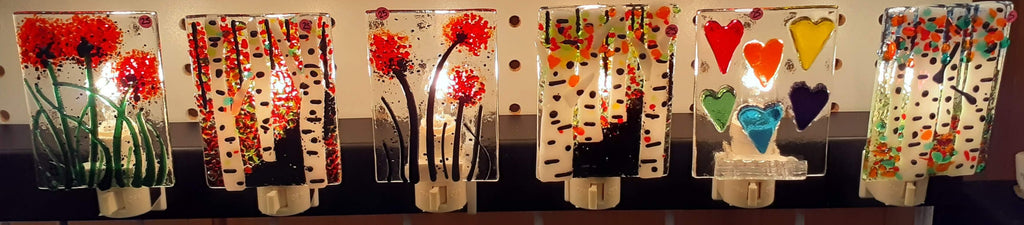 Carla Stevens: Fused Glass Nightlight Project