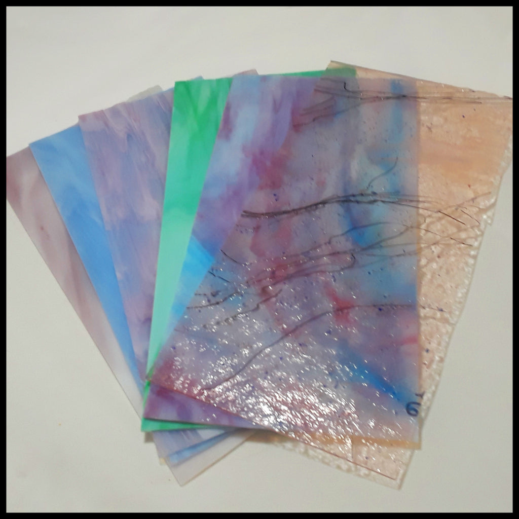 "Stained Glass 12"" x 6"" Combo Packs (3 pc)"