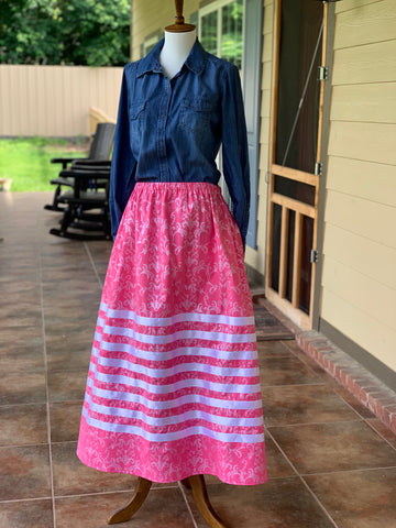 Pink Ribbon Skirt