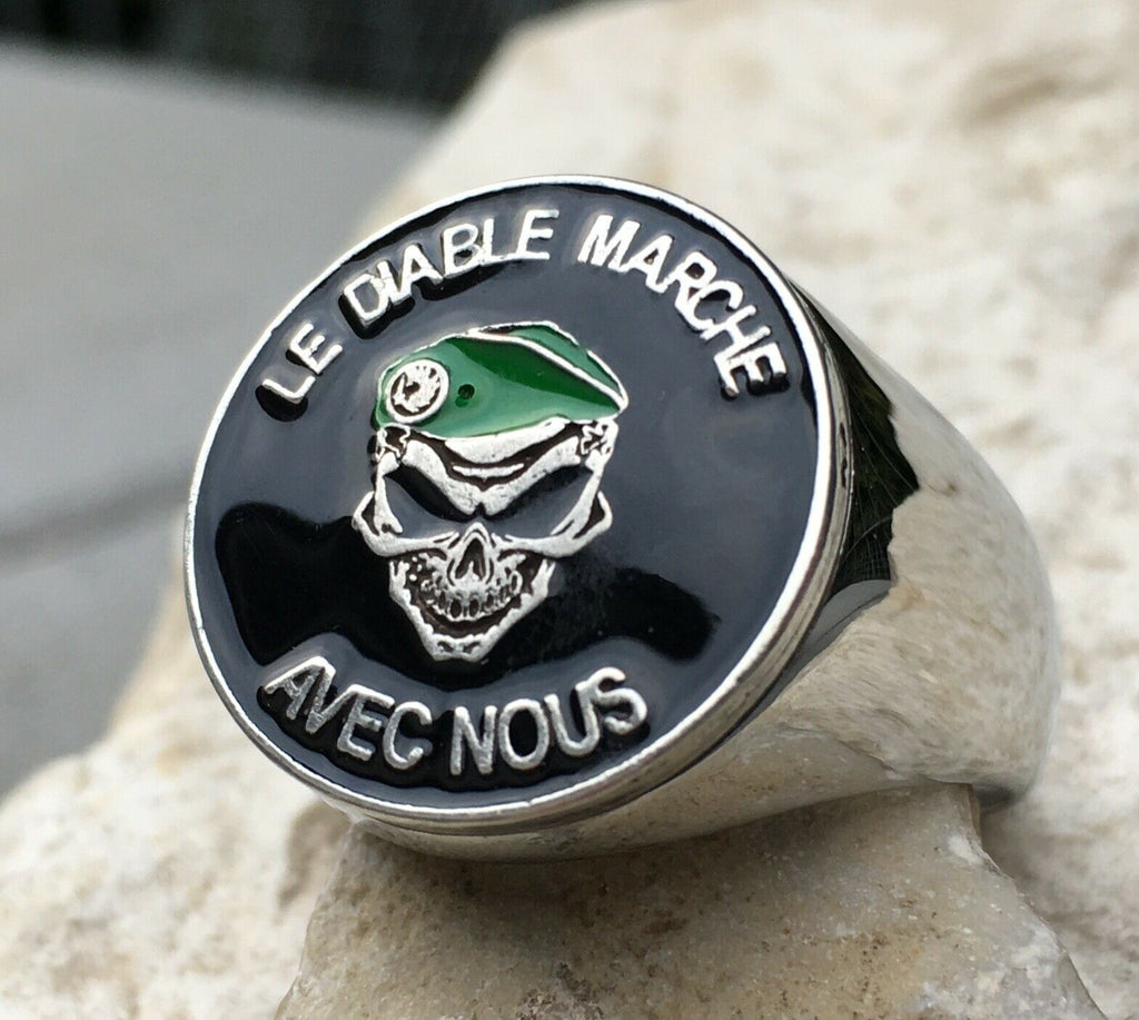 Green Berets French Foreign Legion Ring