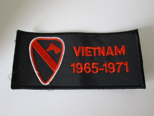 Embroidered Military Patch 1965 - 1971 Vietnam 1st Cavalry Division US Army