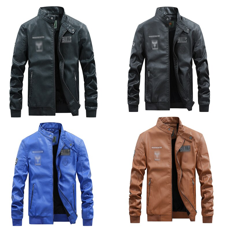 Self-Defense Anti-Cutting Stab-Resistant Leather Men Jacket Safety Protective Clothing