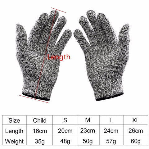 Image of Cut-resistant Anti-Knife Glove Level 5 Protection