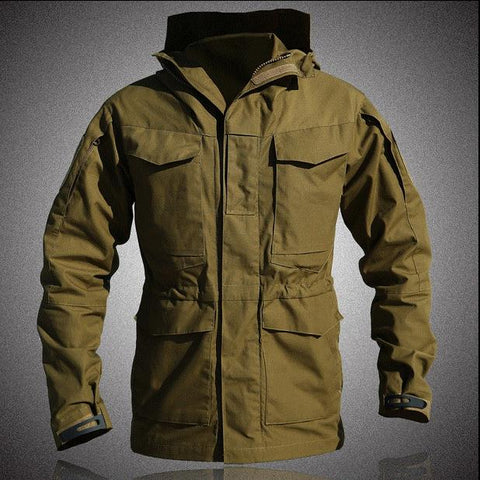 Image of Flight Pilot Coat Army Clothes Casual Tactical