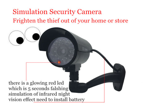 Fake Dummy Camera Bullet Waterproof Outdoor Indoor