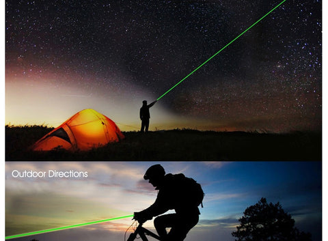 Image of 5MW High Power Red Blue Green Laser Pointer