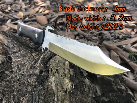 Image of Tactics Knife Outdoor Hunting Survival Rescue