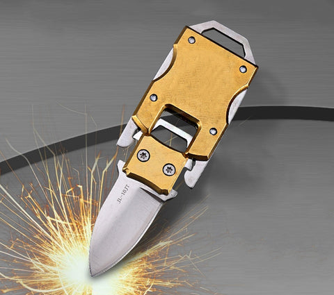 Image of Portable keychain knife EDC tool multi mini pocket