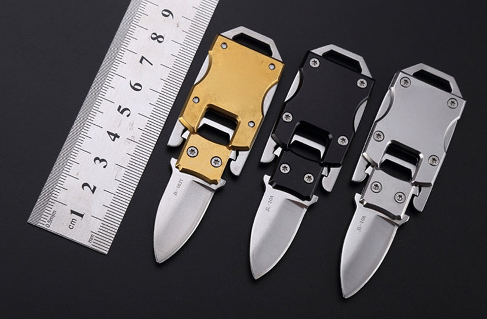 Portable keychain knife EDC tool multi mini pocket