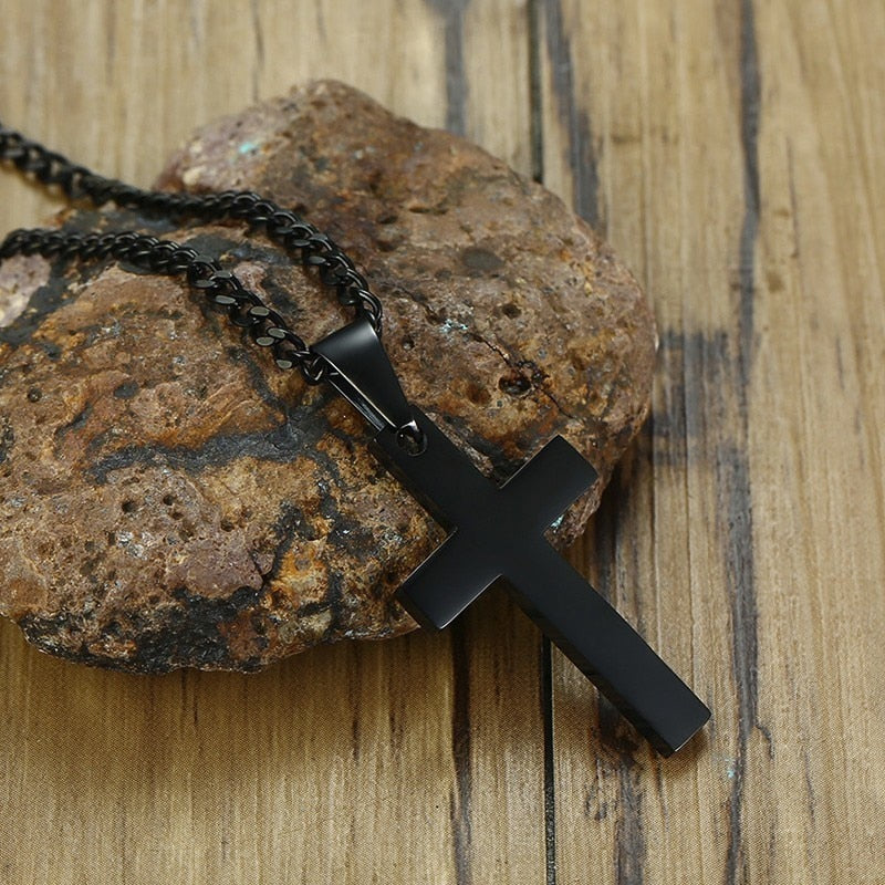 Camouflage Cross Pendants for Men Soldier
