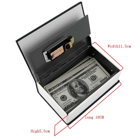 Image of Dictionary Mini Safe Box Security Safe Lock