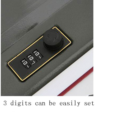 Dictionary Mini Safe Box Security Safe Lock