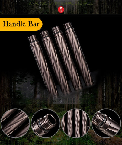 Image of Outdoor Camp Hiking Survival Tool Self defense Sticks pole
