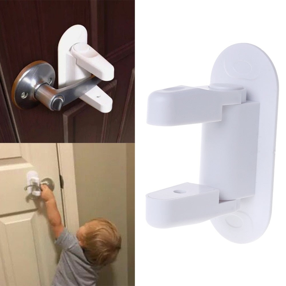 Baby Safety Lock Door Lever Home