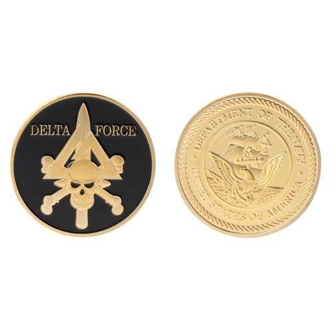 Image of Commemorative Coin Force American Army Team Delta Force