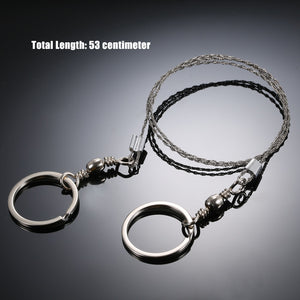Gear Stainless Steel Wire Saw survival Tool