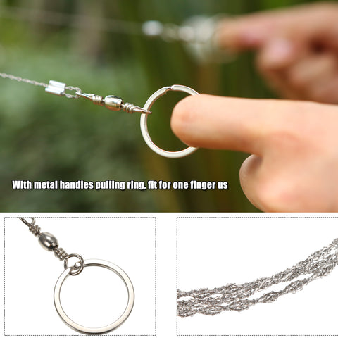Image of Gear Stainless Steel Wire Saw survival Tool