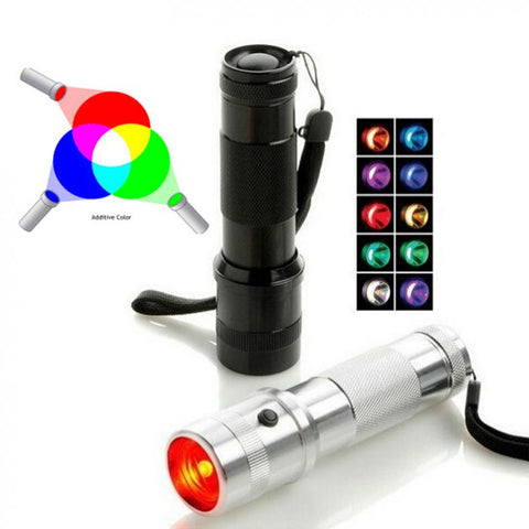 RGB LED Flashlight