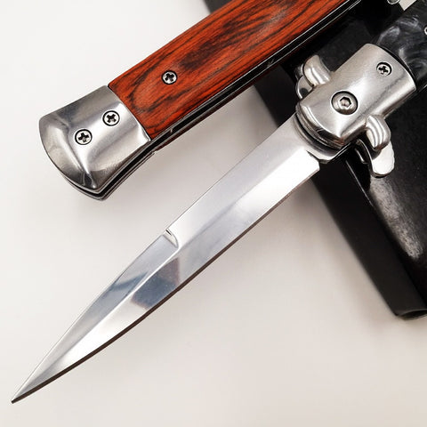 Image of Italian Mafia Folding knife 440C Blade