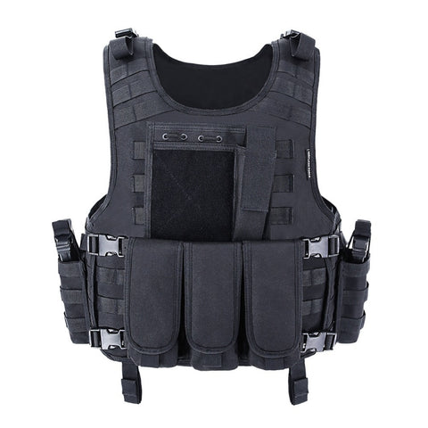 Image of Airsoft Vest Tactical Plate Carrier Swat Fishing Hunting Army Armor Police
