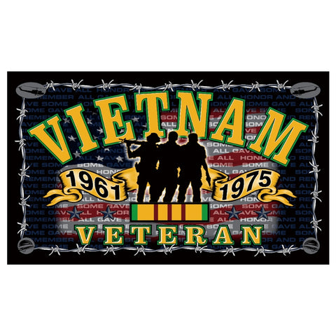 Flag Vietnam War Veteran
