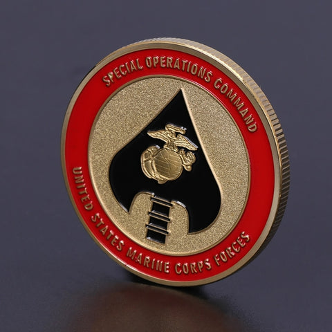 Coin Marine Corps Forces America Army Collection
