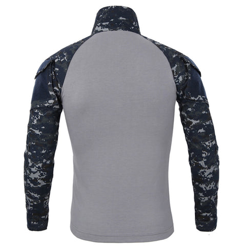 Camouflage Army T-Shirt Soldiers Combat Tactical Long Sleeve T Shirts