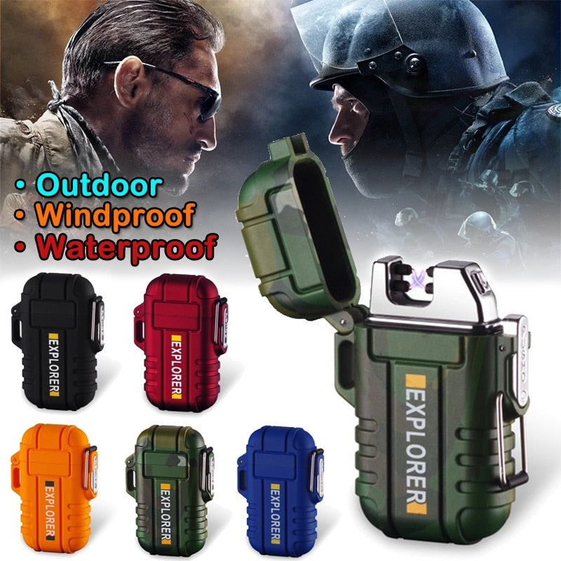 Lighter Commando USB Windproof Dual Arc Plasma