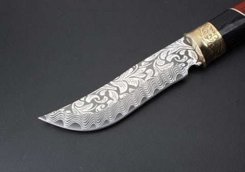 Hunting Russia Fixed Knife 5Cr13Mov Blade