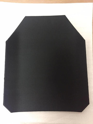Image of Alloy Steel Ballistic Plate - Bulletproof Panel For Tactical Vest Backpack Insert - SAFE Level NIJ IIIA 10x12''