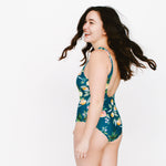 Dark Citrus One-Piece Swimsuit