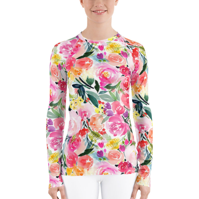 Pink Bouquet Sun Shirt