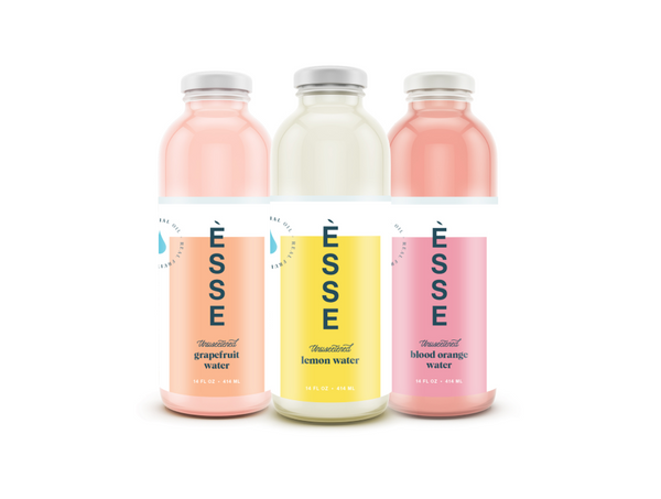 ÈSSE Water - Mixed Case - Lemon, Blood Orange and Grapefruit (4 each) - ÈSSE Water