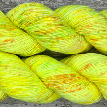 Load image into Gallery viewer, Lemon Sorbet, merino nylon sock yarn