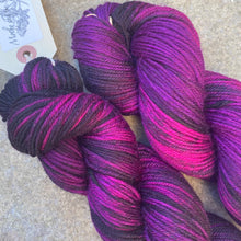 Load image into Gallery viewer, Black Tulip DK, merino nylon sock yarn