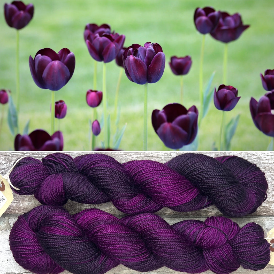 Leaf Litter, merino nylon sock yarn