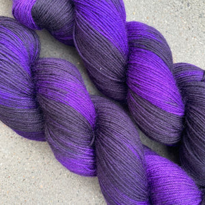 Distant Galaxies, merino nylon sock yarn