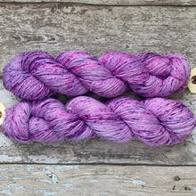 Load image into Gallery viewer, This One Is Purple Too, merino nylon sock yarn