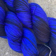 Load image into Gallery viewer, Midnight Sky DK, merino nylon yarn