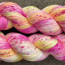 Load image into Gallery viewer, Rosy Maple Moth, merino nylon sock yarn