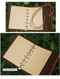 Faux leather vintage diary