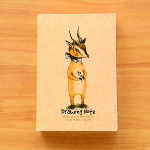 A6 Woodland friends notebook