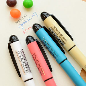 4 pcs gel ink pen