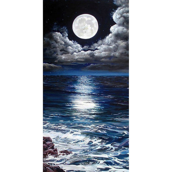 Full Moonlight diamond painting