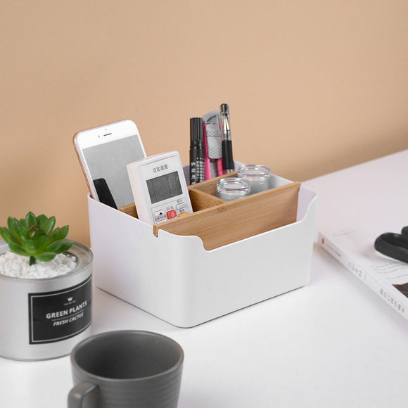 Multi-functional Desktop Storage Box