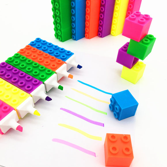 building blocks highlighters