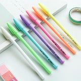 7 pcs High gloss powder colour pen