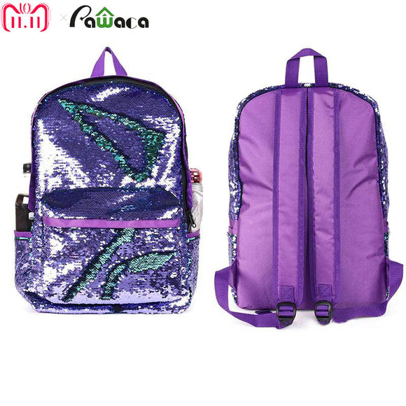 Reversible Sequin Mermaid Backpacks