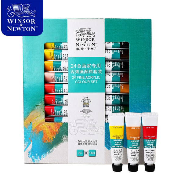 Winsor&Newton Professional Acrylic Paints Set
