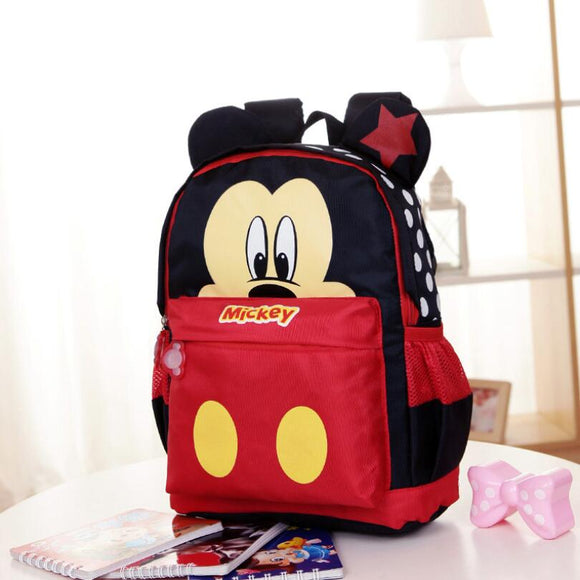 Mickey and Minnie Mouse School Bags
